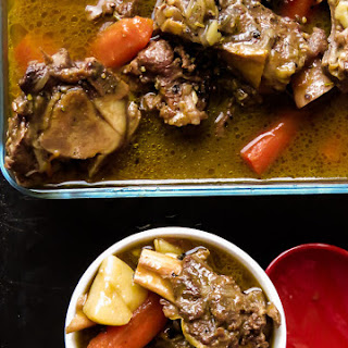 Bone Broth Based, Chunky Beef And Vegetable Soup(slow Cooked).