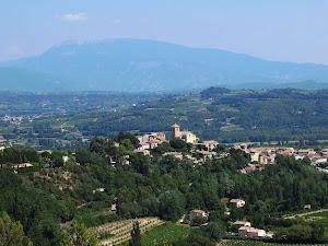 Brantes en Provence près de la maison hôtes