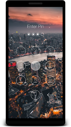 Keypad Lock Screen 1.43 screenshots 1