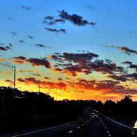 On the road again di