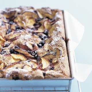 Nectarine and Blueberry Slice Recipe