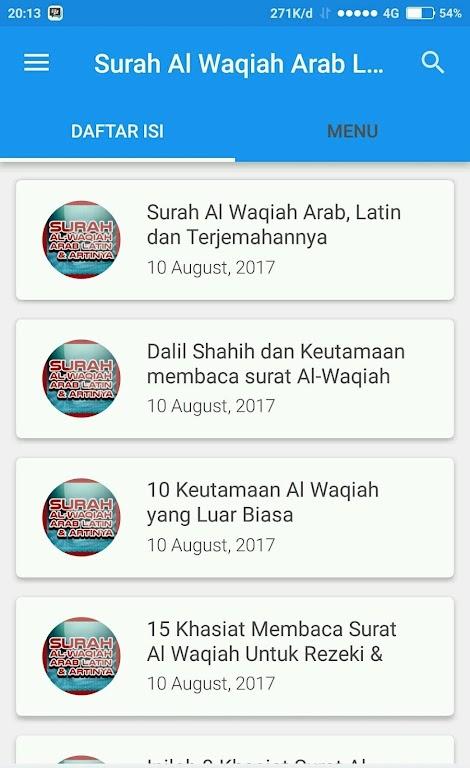 Unduh Arabic Al Waqia Latin Meaning Apk Versi Terbaru 240