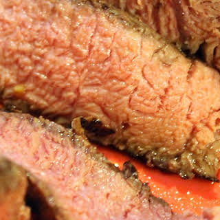 Grilled Chuck Roast.