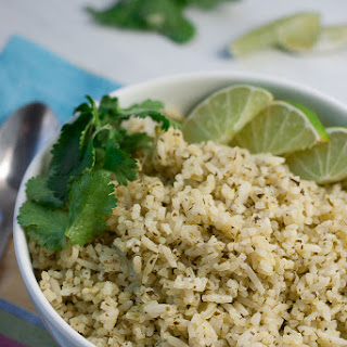 Mexican Style Cilantro Lime Rice
