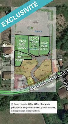 Vente terrain 700 m2