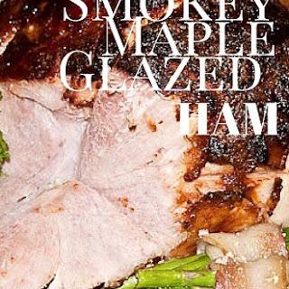 Smokey Maple Glazed Ham