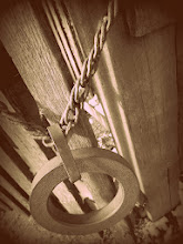 Photo: Sepia photo of an iron chain on a wooden fence at Carriage Hill Metropark in Dayton, Ohio.