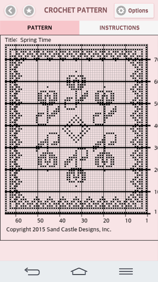 Google Crochet Patterns : Filet Crochet Patterns Mobile - Android Apps on Google Play