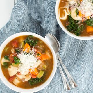 Easy Vegetable Tortellini Soup