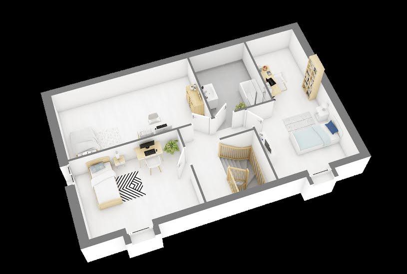 Vente Terrain + Maison - Terrain : 500m² - Maison : 110m² à Estrées-Saint-Denis (60190)