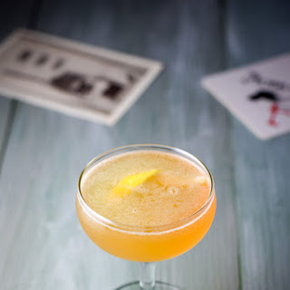 Sultry Sidecar Cocktail.
