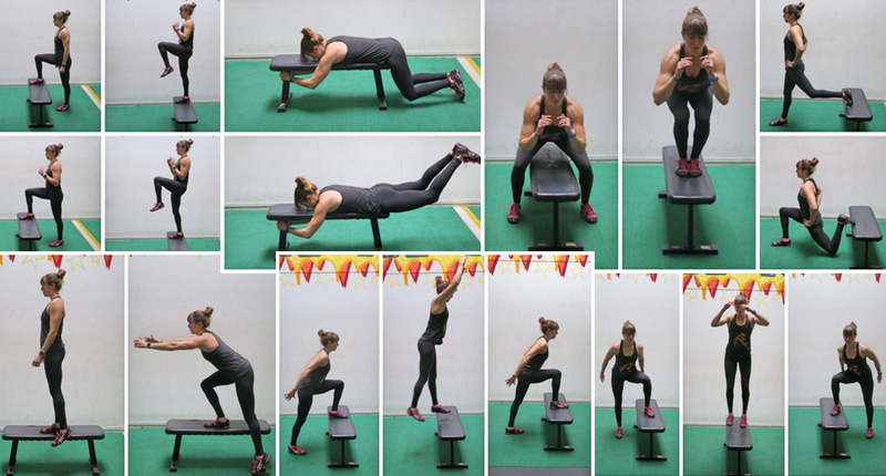Phenomenal 7 Leg Exercises Using A Box Gmtry Best Dining Table And Chair Ideas Images Gmtryco
