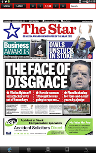 The Sheffield Star Newspaper- screenshot thumbnail