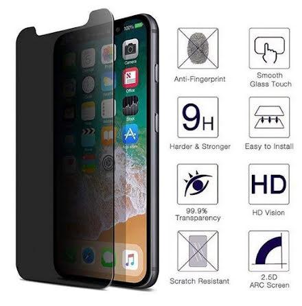 iPhone 12 Pro Skärmskydd Anti-Spy 0,3mm