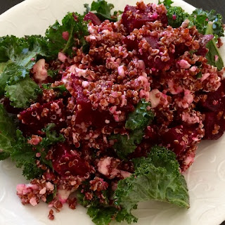 Beetroot and Quinoa Superfood Salad.