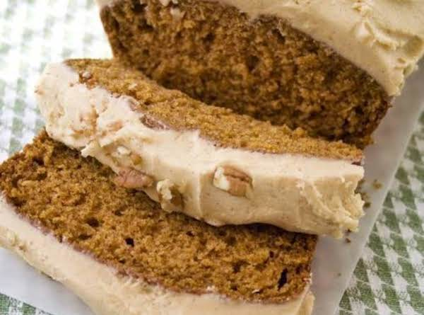 Pumpkin Bread With Pumpkin Butter Cream