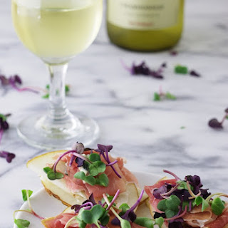 Asian Pear Prosciutto Appetizers