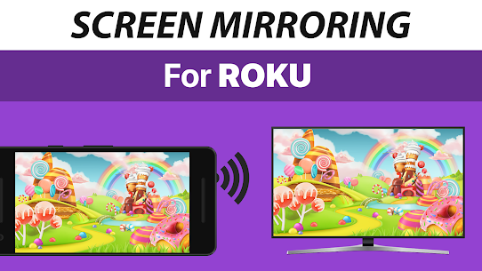Screen Mirroring+ for Roku Apk 1