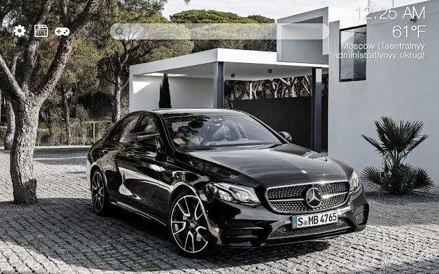 Mercedes-Benz HD new free tab theme