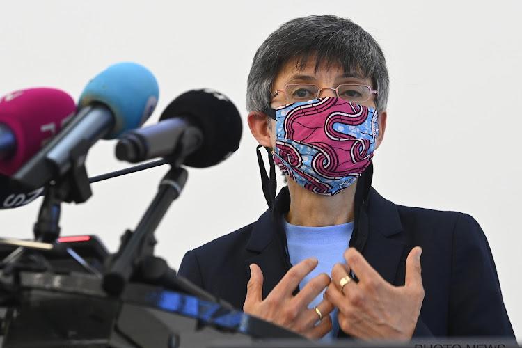 Antwerpse gouverneur Cathy Berx komt met goed nieuws voor sporters