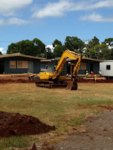 Photo: There is still a lot of digging going on.