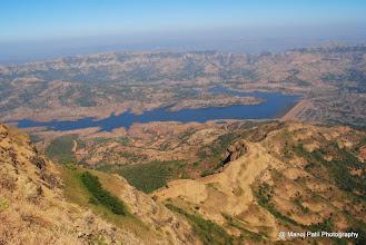 Photo: Our route to descend Torana