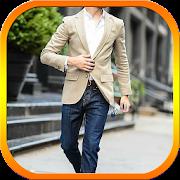 Men Simple Suit Fashion