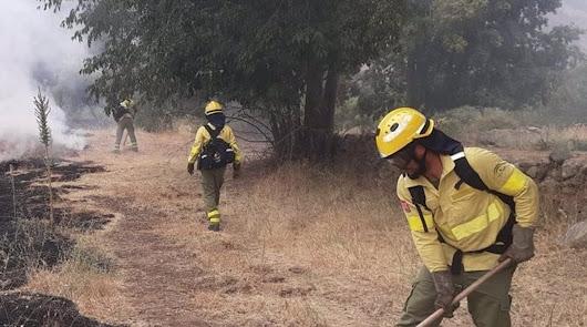 Controlado un incendio forestal en Abrucena