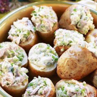Stuffed Potato Halves.