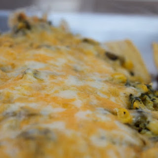 Ground Turkey Enchiladas with Corn and Cilantro Topping