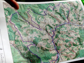 Photo: Rolling Hills map (day 2)
