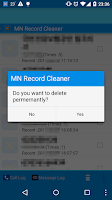 Screenshot of Record Cleaner-Call/SMS clean