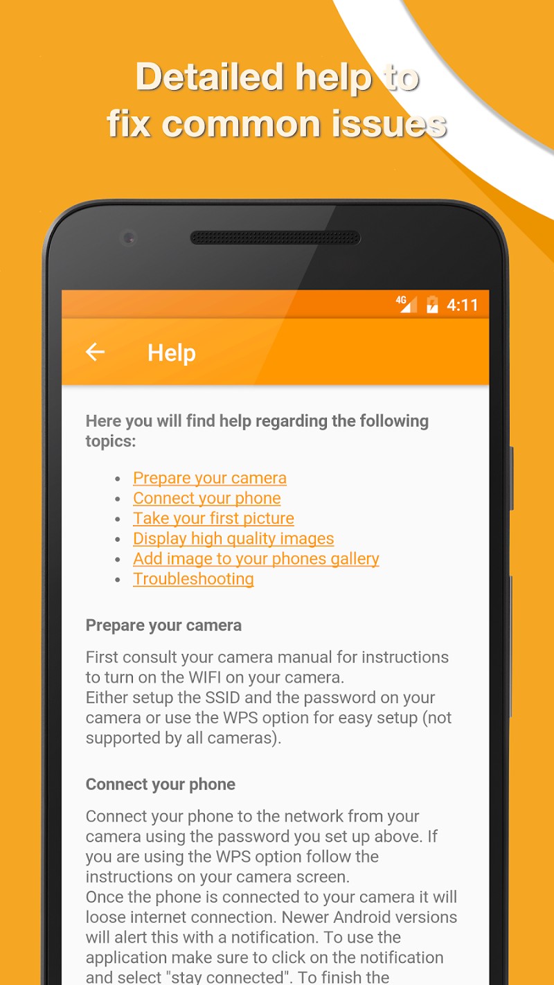 Snaps 🚀 DSLR Remote Screenshot 4