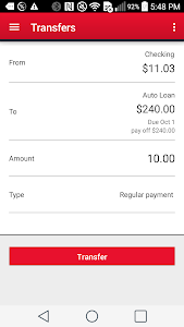 RIAFCU Mobile Banking screenshot 2
