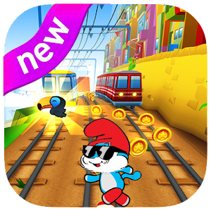 Adventures smurfs run game for PC and MAC