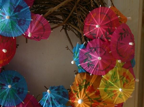 Parasol Wreath Recipe