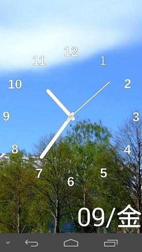 スライドショー時計