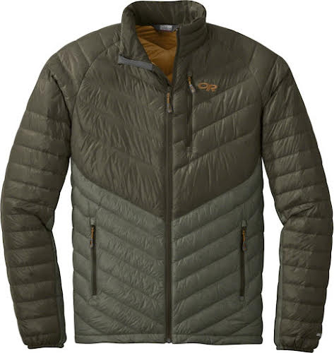 Outdoor Research Illuminate Men's 800-fill Down Jacket: Juniper/Basil