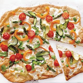 Ultra-Thin Crust Pizza Primavera