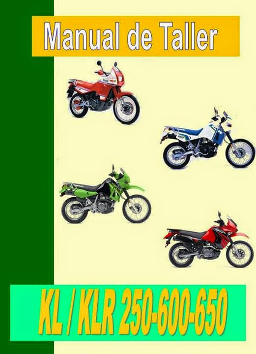 kawasaki klr 250 manual-taller-servicio-despiece