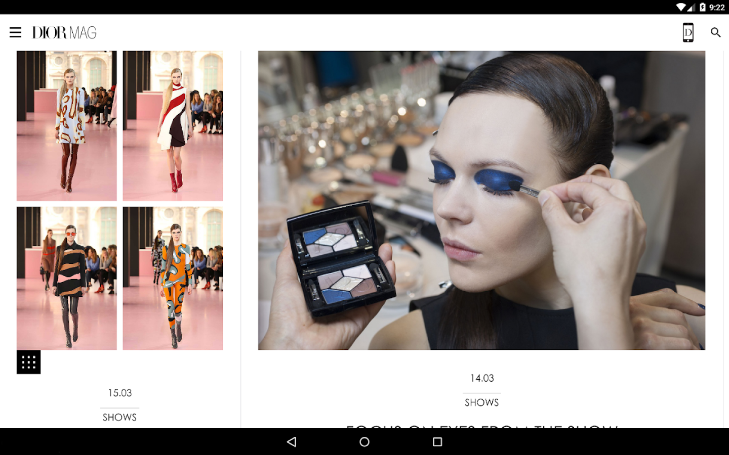 DIORMAG- screenshot