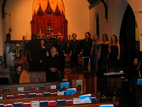 Photo: April 20, 2008: Final Concert; Jeffery Kite-Powell + Cantores Musicæ Antiquæ