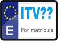 ITV por matrícula