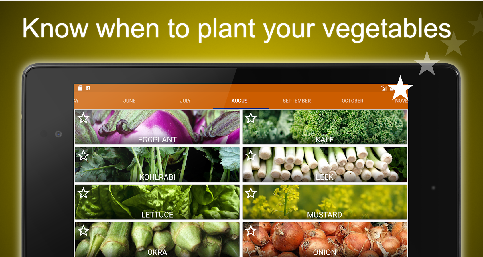 Planting Calendar Vegetables Android Apps on Google Play