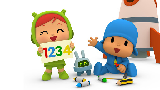 Pocoyo 1, 2, 3 Space Adventure: Discover the Stars apkpoly screenshots 2