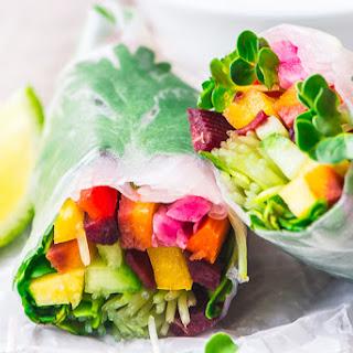 Rainbow Summer Rolls Recipe