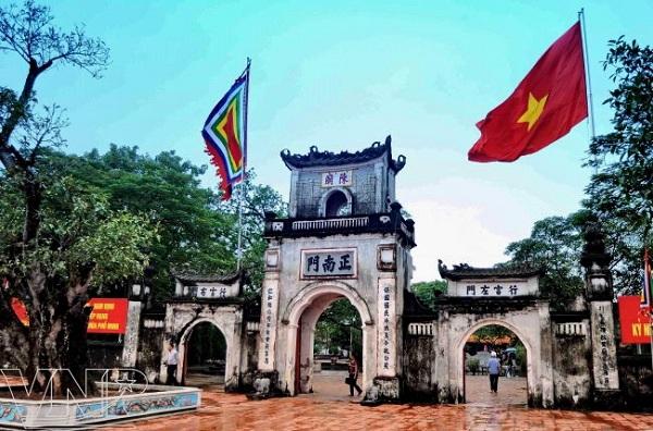 Cầu lộc buôn bán đền Trần ở Nam Định