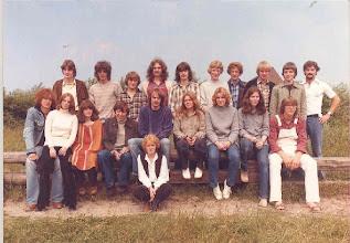 Photo: Abschlußklasse 10a (1980)