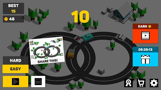 Circle Crash of Cars - Drive Racing Game - náhled