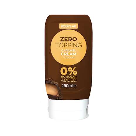 Bodylab Zero Topping - Caramel Cream